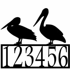 Pelican address Sign #1 for Condo / Beach, CNC Plasma Cut