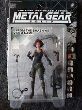 """Rare"" McFarlane Metal Gear Solid - Meryl Silverburgh - 1998 ""New & Sealed"""