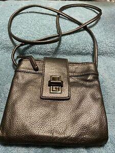 Tignanello Metallic Colored Leather Crossbody