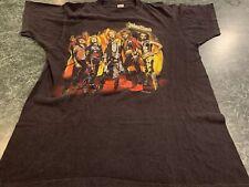 Vintage 1986 Judas Priest T-shirt Turbo Fuel For Life Tour Size Xl *Rare*