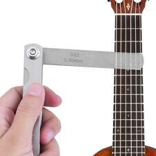 30 Blade Feeler Gauge Set Imperial & Metric Guitar String Measure Luthier Tool