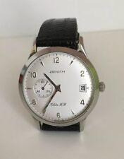 Zenith Elite HW Men's Classy Wrist Watch #01 0125650 BEAUTIFUL