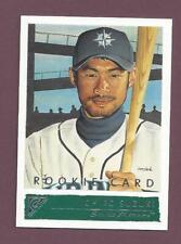 ICHIRO SUZUKI TOPPS GALLERY  2001 ROOKIE CARD IN EXCELLENT CONDITION (ENGLISH)
