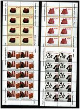 Kosovo 2004 Kleinbogensatz Trachten MiNr. 22-25 ** / MNH