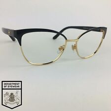 RALPH LAUREN eyeglasses BLACK/GOLD CAT-EYE glasses frame MOD: RL5099 9003