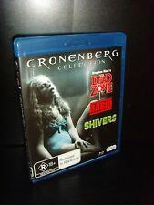 David Cronenberg Collection - 3 Blu rays - Shivers, Rabid and The Dead Zone