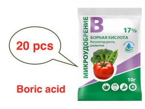 Microfertilizer Plant growth and development regulator 15/20 x 10g