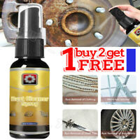 Rust Cleaner Spray Derusting Spray Car Maintenance Cleaning 30ML Rust Remover UK