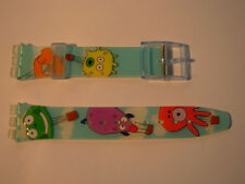 SWATCH CINTURINO x Gent IN THE AIR - GN221 - 2005 - NUOVO  strap band