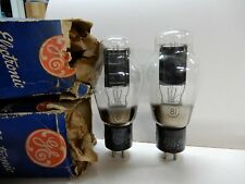 GE Beautiful Type 81 Vacuum Tubes NOS? Both Measured Good on My Hickok 800A
