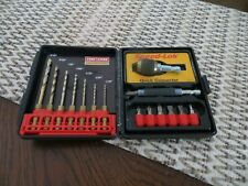 Craftsman Professional Speed Lok Quick Connector Drill Set With Case