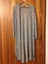 H&M Basic Gr M (36 38) Luxus Strick Jacke Mantel Langer Cardigan