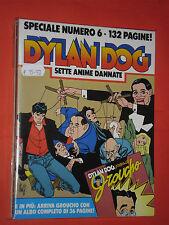 DYLAN DOG-SPECIALE- N°6- sette anime dannate- 1°EDIZIONE BONELLI- CON LIBRICINO