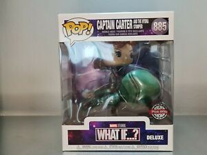 """MARVEL:WHAT IF...? 6"""" Captain Carter And THE HYDRA STOMPER FUNKO POP! VINYL #885"""