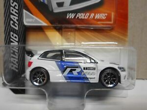 VOLKSWAGEN POLO WRC R RACING CARS MAJORETTE 1:64