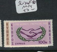 Cyprus SG 265-6 MOG (9ebn)