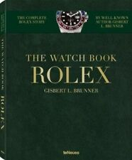 The Watch Book Rolex by Gisbert Brunner Hardcover Book Free Shipping!