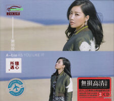 A Lin  黄丽玲  隨心所遇 + Greatest Hit 3 CD 52 Songs 24K Gold Dics
