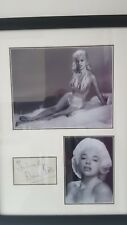 diana dors genuine hand signed 20x15 inch proffesional framed display