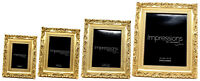 Gold Ornate Baroque French Shabby Chic Antique Vintage Inspired Photo Frame Gift