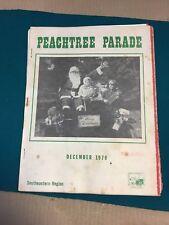 December 1970 AACA magazine/newsletter Peachtree Parade Southeast region