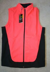 Under Armour Mens Golf UA Windbreaker Vest Gillet 1345469 Beta Red, Size Small