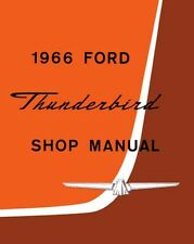 1966 Ford Thunderbird Shop Service Repair Manual