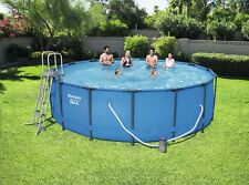 Bestway Steel Pro Max Frame Pool Set 457x122 cm mit Filterpumpe, 56438