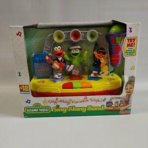 2000 Sesame Street Sing-Along Band Toddler Karaoke  NIB