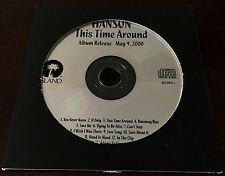 THIS TIME AROUND HANSON USA PROMO CD VERY RARE CARDBOARD SLEEVE RARE ZAC