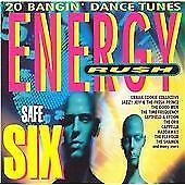 Various Artists : Energy Rush Vol.6 (Safe Six) - 20 Bangin CD