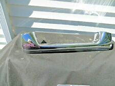 1957 Pontiac All Models, Rear Center Bumper Piece,ReChromed, Nice!