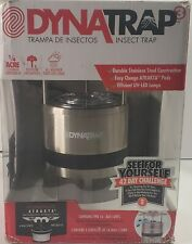DynaTrap DT600ST Insect Trap Mosquito Repellent, 1/4 Acre, Sterling - Used