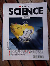 POUR LA SCIENCE  n° 199/mai 94 Les voyages dans le temps. Nourrir l' humanité.