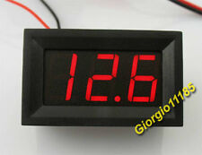 US Stock Mini Red LED Digital Panel AMP Meter Gauge 0~9.99A DC