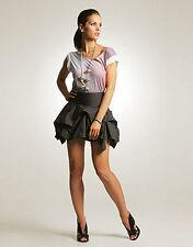 AllSaints Grey Mini Hitch Skirt Size 10 VGC