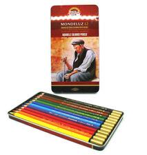 Koh-I-Noor Mondeluz  (3722) Set of 12 Artist's Coloured Pencils , Aquarell ,New