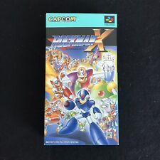 Rockman X Super Famicom Excellent Condition