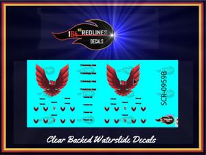 1/64 '79 Firebird 'Red Phoenix Decal Set' SCR-0960B