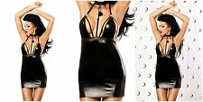 Cocktailkleider aus Elastan/Spandex ohne Muster für Clubwear-Anlässe