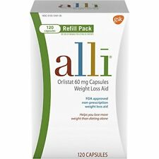 alli Weight Loss Aid Refill Pack Capsules 120 CP