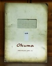 OKUMA LSN ELECTRICAL CIRCUIT DIAGRAM MANUAL