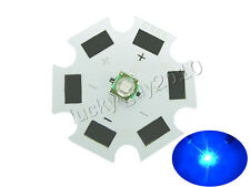 50pcs 1W 3W Cree XLamp XPE XP-E Royal Blue 450nm~455nm 20mm High Power LED Light