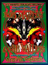 Bob Marley Tribute poster * Benefit for The Blind - Long Beach * Dennis Loren