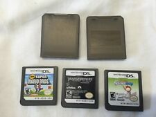 Nintendo Super Mario Bros.Version DS And Others Game Lot B4