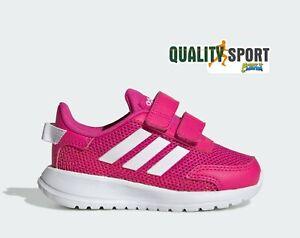 Adidas Tensaur Run Fucsia Scarpe Bambina Infant Sportive Sneakers EG4141