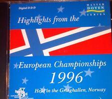 EUROPEAN BRASS BAND CHAMPIONSHIP 1996 CD MUSIC BLACK DYKE MILLS YORKSHIRE BUILDI