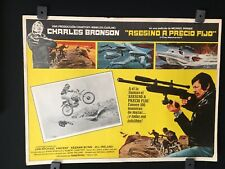 Asesino A Precio FijoVintage Mexican Lobby Card Charles Bronson A120