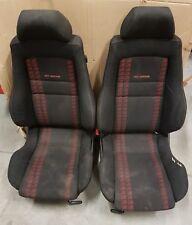 VW Golf MK3 Vento 3DR Gti Edición Limitada Interior Tarjetas de asientos recaro Rojo Negro