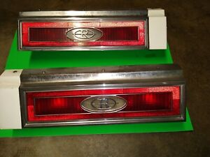 1983 BUICK RIVIERA OEM TAIL LIGHT SET